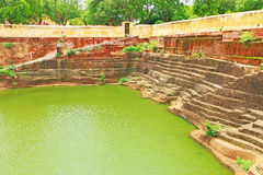 Verzauberndes Nahargarh-Fort Jaipur Rajasthan Indien Lizenzfreie Stockbilder