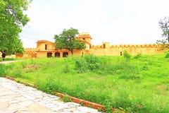 Verzauberndes Nahargarh-Fort Jaipur Rajasthan Indien Stockfoto