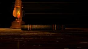 Verzauberte Märchenbuch-Öffnung lizenzfreie abbildung