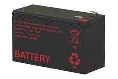 Verzegelde UPS-batterijen; het 3D teruggeven Royalty-vrije Stock Fotografie