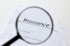 verzekering Stock Afbeelding