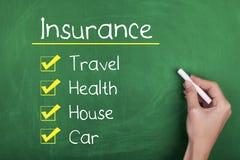 verzekering Stock Afbeeldingen