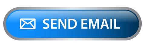 Verzend e-mailwebknoop royalty-vrije illustratie