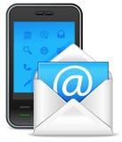 Verzend een brievenpictogram Stock Fotografie