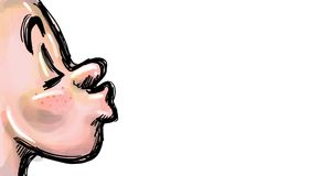 Verzend kussen vector illustratie