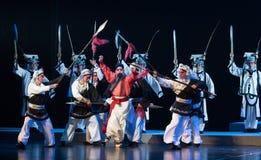 """verzend naar het uitvoerings grond-verslag van Zuidelijke boeg-Jiangxi opera""""four dromen van linchuan† Stock Fotografie"""