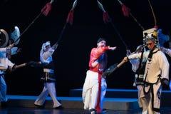 """verzend naar het uitvoerings grond-verslag van Zuidelijke boeg-Jiangxi opera""""four dromen van linchuan† Royalty-vrije Stock Fotografie"""