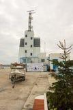 Verzendend bij de haven van Bourgas, Bulgarije Royalty-vrije Stock Afbeelding