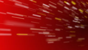 Verzendende Deeltjes Rode Lijn stock illustratie