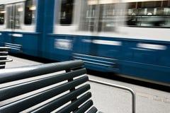 Verzendende Tram Stock Fotografie