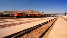 Verzendende trein Stock Foto