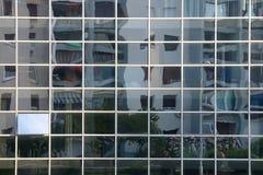 Verzerrte Reflexion Lizenzfreie Stockbilder