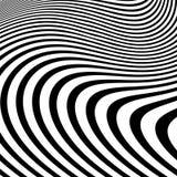 Verzerrtes abstraktes einfarbiges Muster von asymetrischem/von Irregular lizenzfreie abbildung