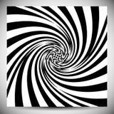 Verzerrungseffekte auf verschiedene Muster Geometrisches verformtes textu stock abbildung