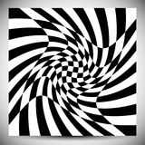 Verzerrungseffekte auf verschiedene Muster Geometrisches verformtes textu vektor abbildung