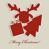 Verzieren Sie auf Weihnachten Lizenzfreie Stockfotos