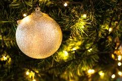 Verzieren Sie auf Weihnachten Stockbild