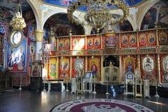 Verzieren Sie inneres Kirche Heiliges Vlasiy, Bulgarien Lizenzfreies Stockfoto