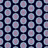 Verzieren Sie seamsless Muster, endlose Beschaffenheit mit Blumen floral lizenzfreie stockfotos