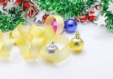 Verzieren Sie vom Weihnachten oder neues Jahr oder Jahrestag, usw. Süße und weiche Tonart im Weinleseton Lizenzfreie Stockfotografie