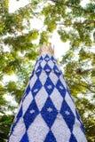 Verzieren Sie Weihnachtsbaum in neue Jahre Festival, Beschaffenheitshintergrund Lizenzfreie Stockfotografie