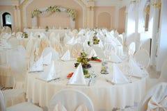 Hochzeit Hall Lizenzfreie Stockbilder