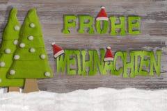 Verziert für Weihnachtsfenster Lizenzfreie Stockbilder