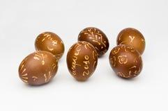 Verzierte Eier Stockfotografie