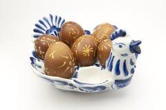 Verzierte Eier Stockfoto