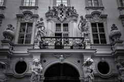 Verzierte Fassade Lizenzfreies Stockfoto
