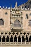 Verzierte Fassade des venetianischen Urlaubshotels und des Kasinos, Las Vegas, Lizenzfreies Stockfoto