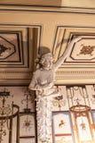 Verzierte Prunktreppe am Achilleions-Palast auf der Insel von Korfu Griechenland errichtet von der Kaiserin Elizabeth von Österre Stockfotos