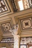 Verzierte Prunktreppe am Achilleions-Palast auf der Insel von Korfu Griechenland errichtet von der Kaiserin Elizabeth von Österre Lizenzfreies Stockbild