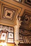 Verzierte Prunktreppe am Achilleions-Palast auf der Insel von Korfu Griechenland errichtet von der Kaiserin Elizabeth von Österre Stockfoto