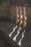Verzierte Säulen lizenzfreie stockfotos