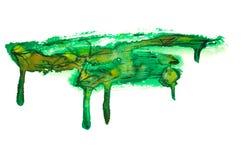 Verzierter Aquarellanschlag Lizenzfreie Stockbilder