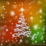 verzierter Baum Stockfoto