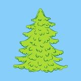 verzierter Baum vektor abbildung