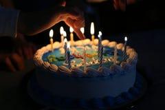 Verzierter Geburtstag-Kuchen Lizenzfreie Stockfotografie