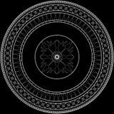 Verzierter Kreis Stockfoto