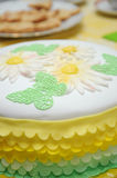 Verzierter Kuchen stockfotos