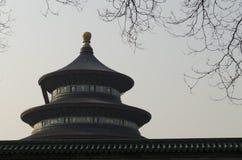 Verzierter Stein der eligious Gebäude Peking China Tempels Himmelstempels Tiantan Daoist Stockfotografie