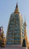 Verzierter Tempel an Shwedagon-Pagode Lizenzfreies Stockbild