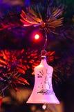 Verzierter Weihnachtsbaum Lizenzfreie Stockbilder