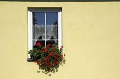 Verziertes Fensterdetail Stockfotografie