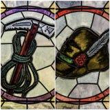 Verziertes Glas Stockbilder