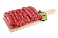 Verziertes Lebensmittel - Fleisch, Schinken, Gemüse lizenzfreie stockbilder