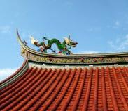 Verziertes Tempel-Dach Stockbilder