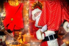 Verziertes Yard für Weihnachten stockbilder