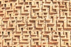 Verzierung auf dem Turm Burana Das Monument der Architektur von XI Lizenzfreie Stockbilder